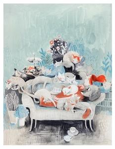 femme-chats1 Isabelle Arsenault