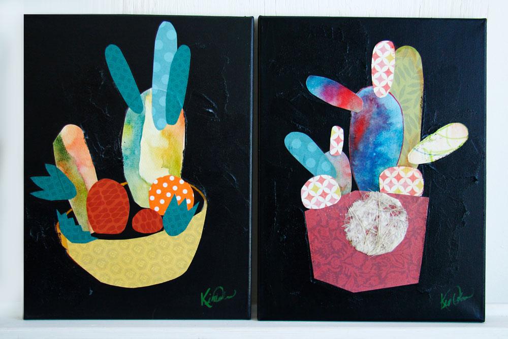 Kim Durocher illustration cactus