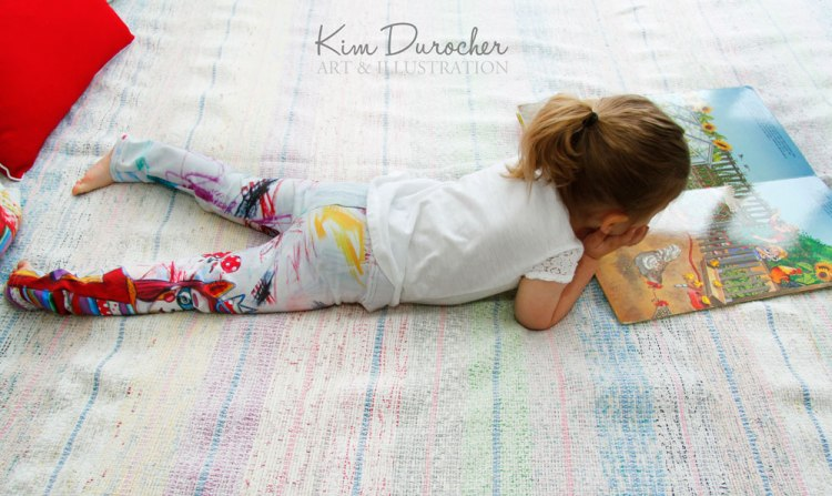 Kim Durocher baby leggings