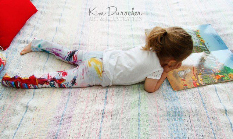 Kim Durocher baby leggings