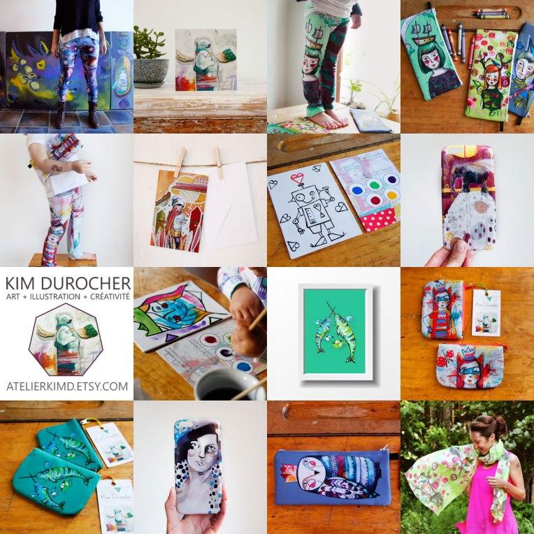 Kim Durocher | Atelier Kim D