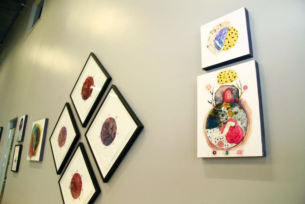 Exposition L'essentiel est invisible, Kim Durocher et Emmanuelle Breton